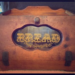 Other - Vintage 1984 bread box,used throughout generations